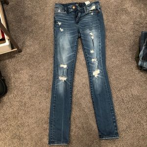 A&F super skinny jeans size 25 SHORT